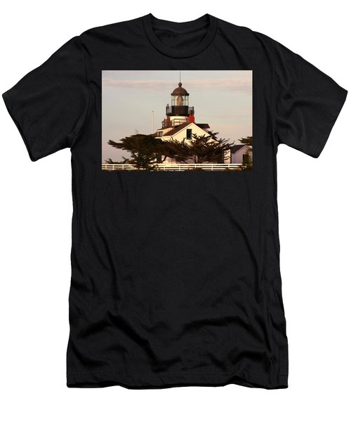 Point Pinos Lighthouse Men's T-Shirt (Athletic Fit)