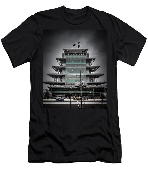 Pole Day At The Indy 500 Men's T-Shirt (Athletic Fit)