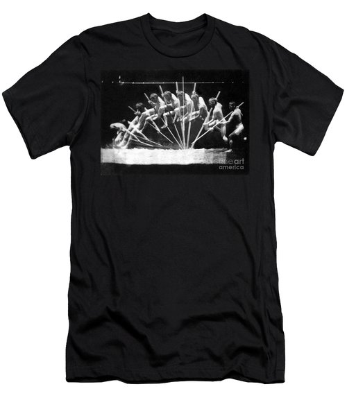 Pole Vault, 1885 Men's T-Shirt (Athletic Fit)