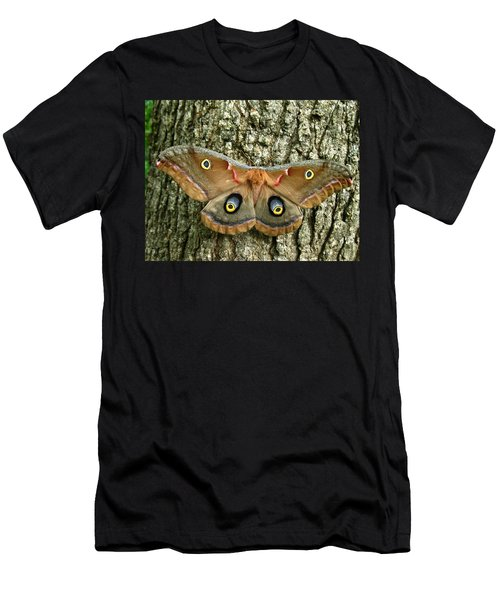 Polyphemus Moth Men's T-Shirt (Athletic Fit)