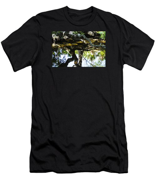 Pond Reflection Men's T-Shirt (Athletic Fit)