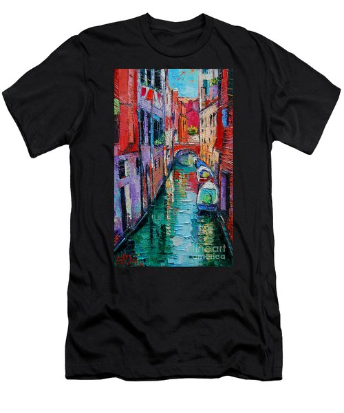Ponte Raspi O Sansoni - Venice - Italy Men's T-Shirt (Athletic Fit)