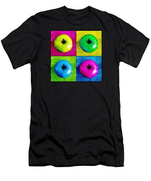 Pop Art Apples Men's T-Shirt (Athletic Fit)
