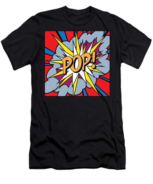 Pop Art Men's T-Shirt (Athletic Fit)