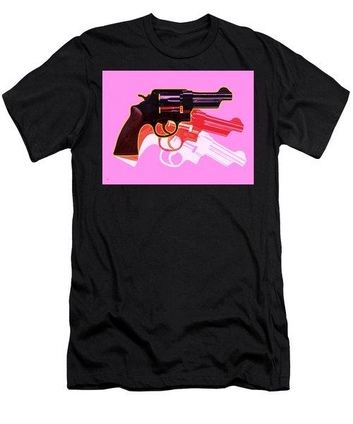 Pop Handgun Men's T-Shirt (Athletic Fit)