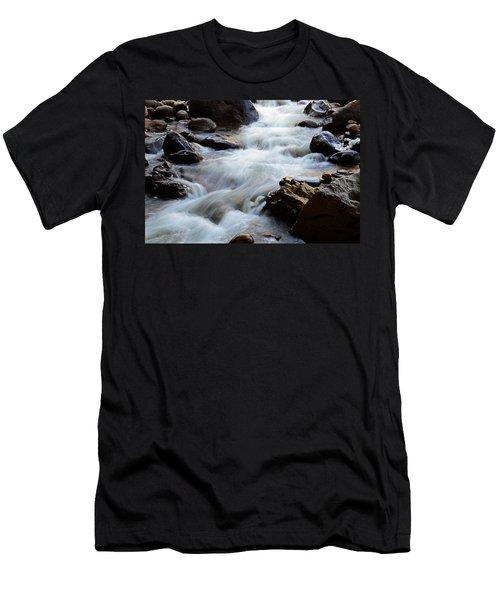 Popo Agie Flow Men's T-Shirt (Slim Fit) by Eric Nielsen