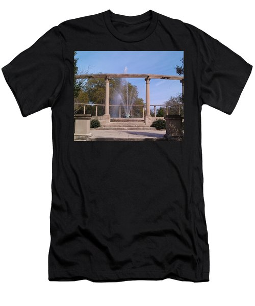 Popp Fountain New Orleans City Park Men's T-Shirt (Athletic Fit)