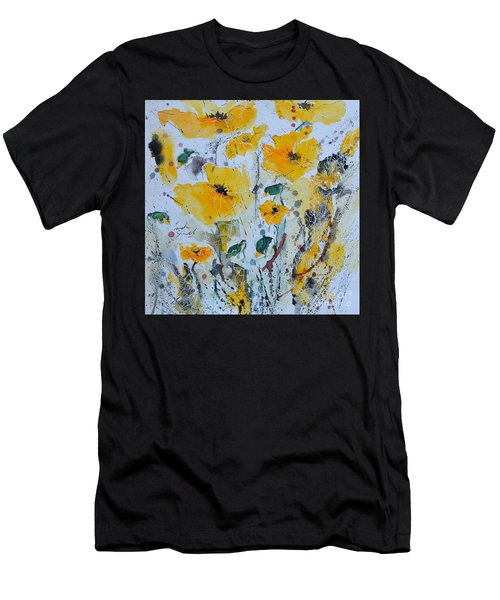 Poppies 03 Men's T-Shirt (Athletic Fit)