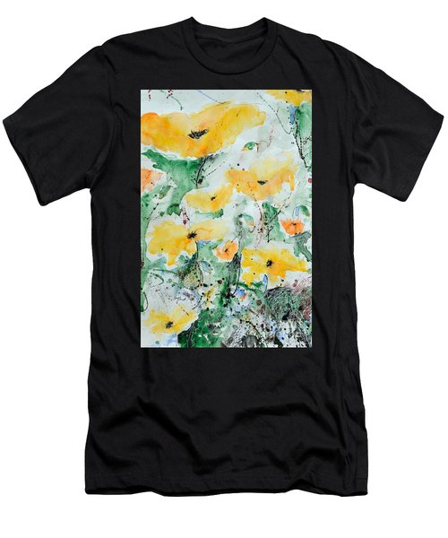 Poppies 07 Men's T-Shirt (Athletic Fit)
