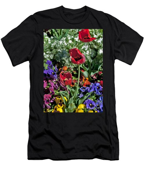 Men's T-Shirt (Athletic Fit) featuring the photograph Poppies by Mae Wertz