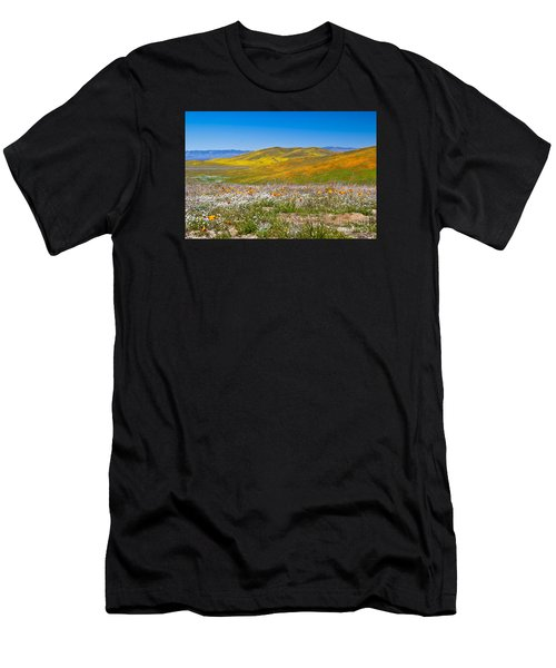 Poppy Fields Men's T-Shirt (Athletic Fit)
