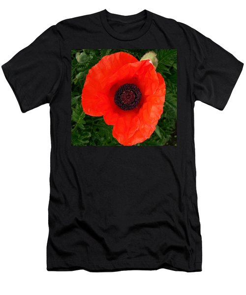 Poppy Of Remembrance  Men's T-Shirt (Athletic Fit)