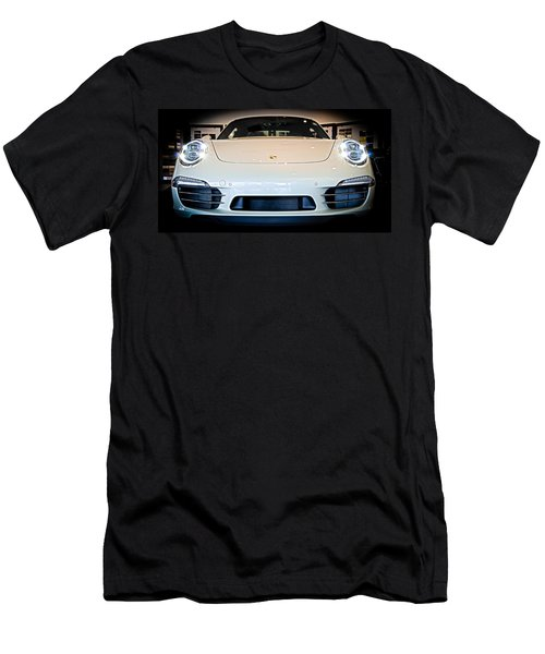 Porsche 911 50th Front With Led's Men's T-Shirt (Athletic Fit)