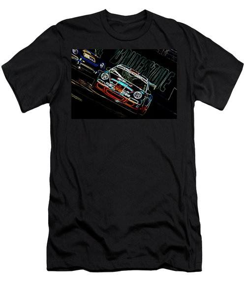 Porsche 911 Racing Men's T-Shirt (Athletic Fit)