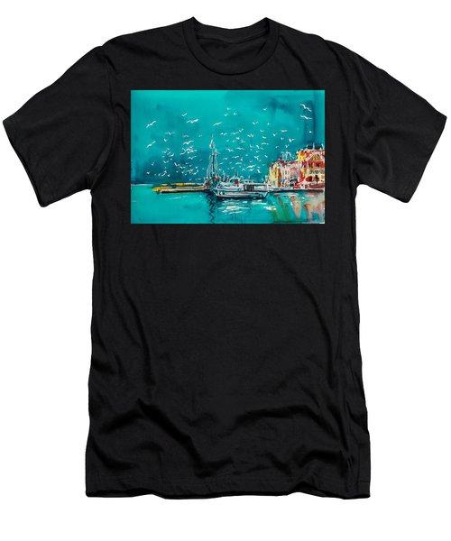 Port Men's T-Shirt (Athletic Fit)