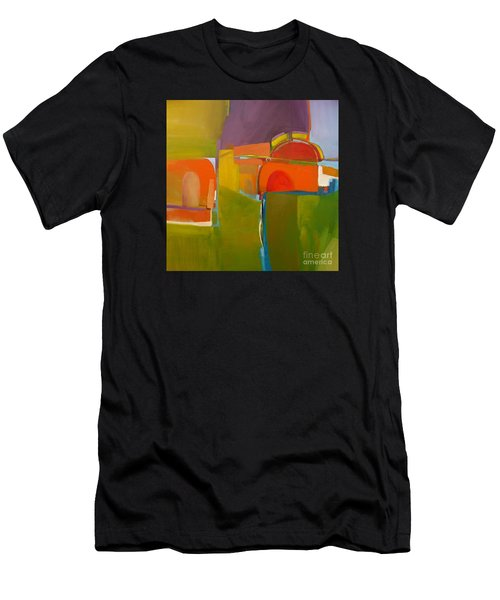 Men's T-Shirt (Athletic Fit) featuring the painting Portal No. 2 by Michelle Abrams