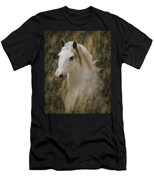 Portrait Of A Horse God Men's T-Shirt (Athletic Fit)