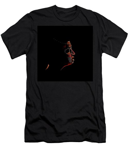 Portrait Of A Woman Men's T-Shirt (Athletic Fit)