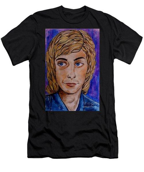 Portrait Of Barry 2 Men's T-Shirt (Athletic Fit)
