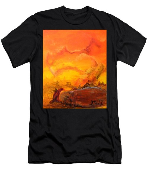 Post Nuclear Watering Hole Men's T-Shirt (Athletic Fit)
