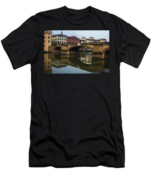 Men's T-Shirt (Slim Fit) featuring the photograph Postcard From Florence  by Georgia Mizuleva