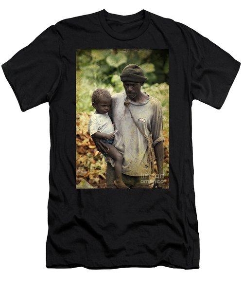Poverty Men's T-Shirt (Athletic Fit)