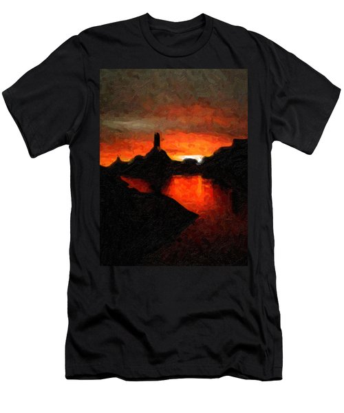 Powell Sunset Men's T-Shirt (Athletic Fit)