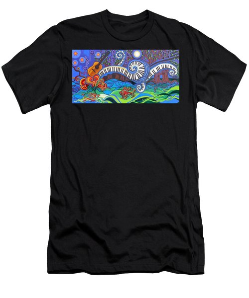 Power Of Music II  Men's T-Shirt (Athletic Fit)