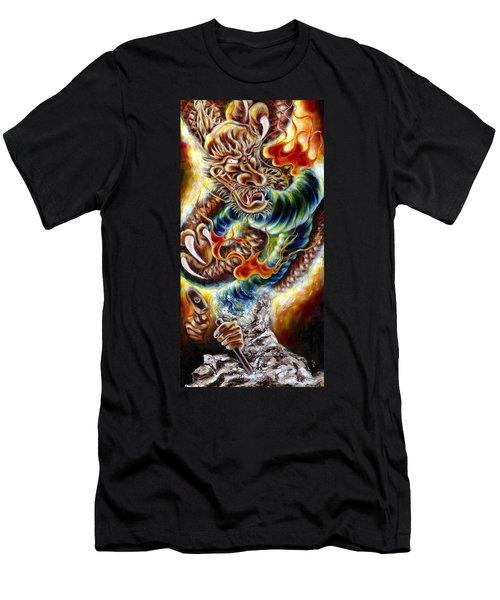Power Of Spirit Men's T-Shirt (Athletic Fit)