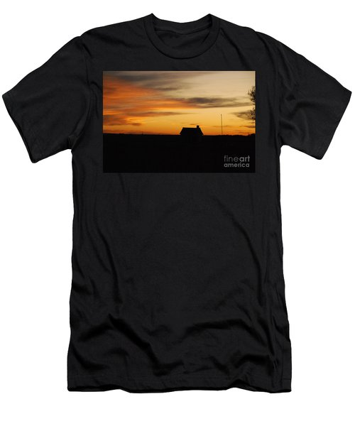 Prairie Sunset Men's T-Shirt (Slim Fit) by Mary Carol Story