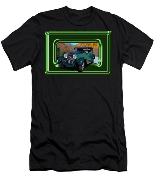 Men's T-Shirt (Slim Fit) featuring the photograph Pretentious by Larry Bishop