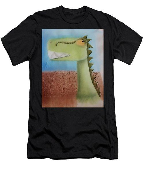 Dinoart Raptor Men's T-Shirt (Athletic Fit)