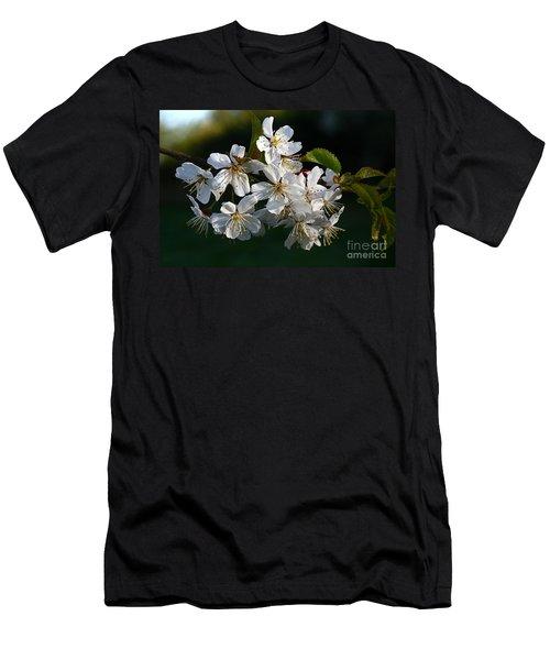Pretty Flowers Men's T-Shirt (Athletic Fit)