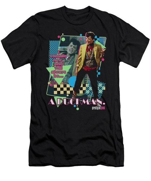 Pretty In Pik - A Duckman Men's T-Shirt (Athletic Fit)