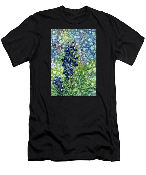 Pretty In Blue Men's T-Shirt (Athletic Fit)