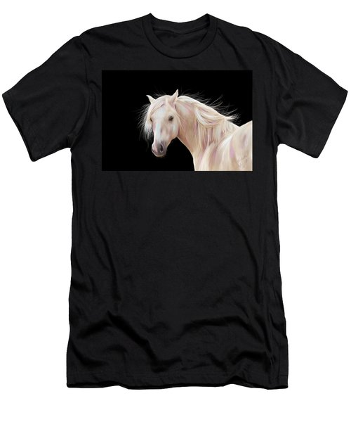 Pretty Palomino Pony Painting Men's T-Shirt (Athletic Fit)