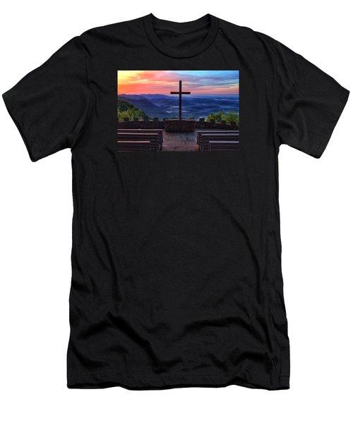 Pretty Place Chapel Sunrise Men's T-Shirt (Athletic Fit)