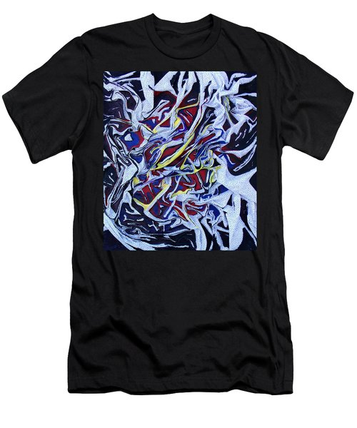 Primary Abstract Men's T-Shirt (Athletic Fit)