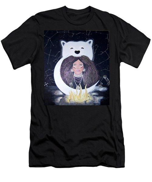 Princess Moon Men's T-Shirt (Athletic Fit)
