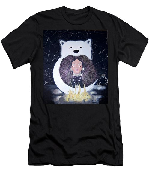 Princess Moon Men's T-Shirt (Athletic Fit)