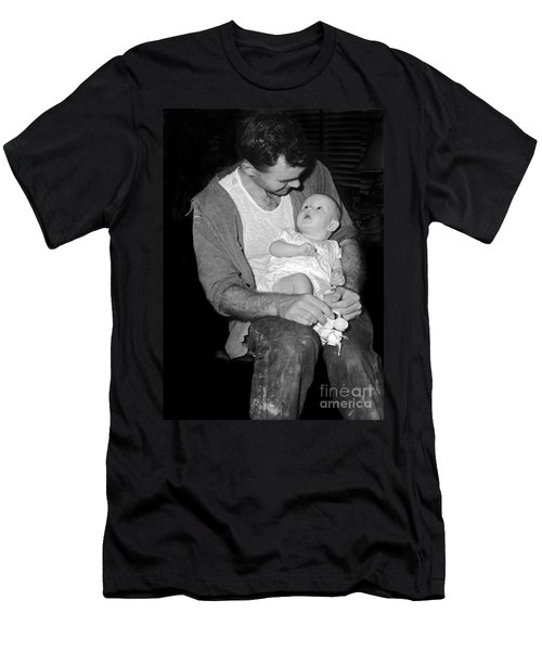 Men's T-Shirt (Slim Fit) featuring the photograph Princess by Roger Rockefeller