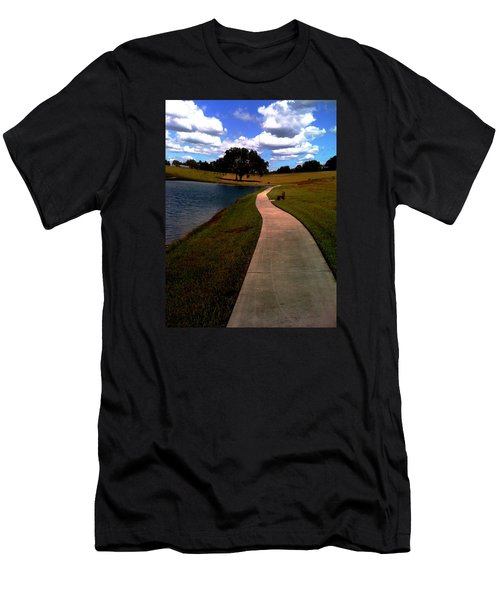 Private Park,fl. Men's T-Shirt (Athletic Fit)