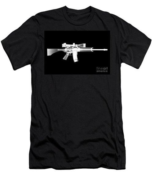 Pro Ordnance Carbon Ar15 Men's T-Shirt (Athletic Fit)