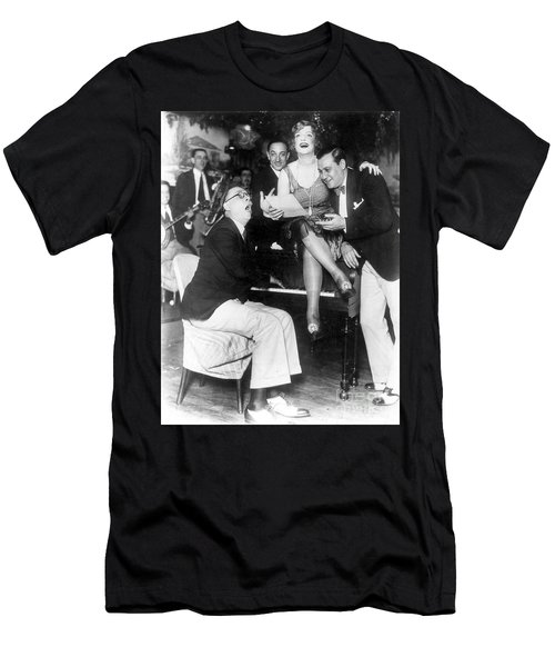 Prohibition: Speakeasy Men's T-Shirt (Athletic Fit)