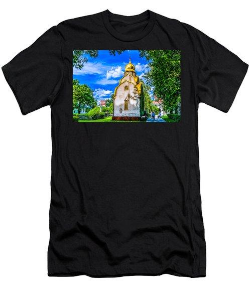 Prokhorov Chapel Men's T-Shirt (Athletic Fit)