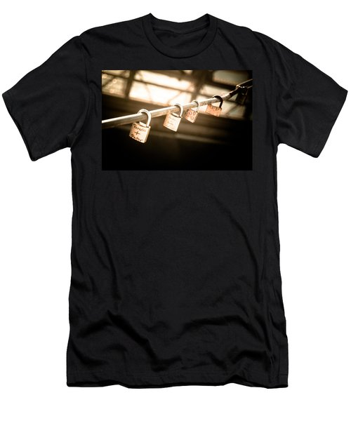 Men's T-Shirt (Slim Fit) featuring the photograph Promises We Made by Peta Thames
