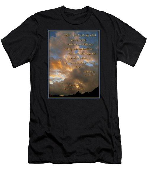 Psalm Eight Men's T-Shirt (Athletic Fit)