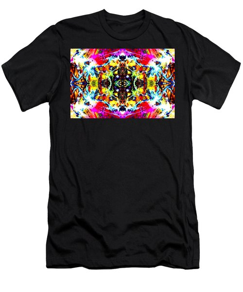 Psychedelic Abstraction Men's T-Shirt (Athletic Fit)