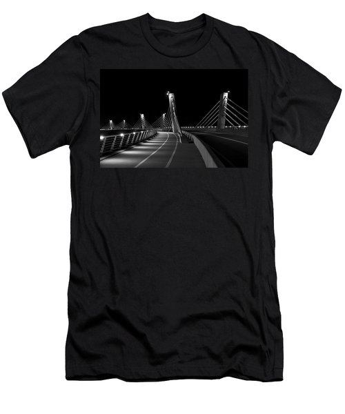 Ptuj Bridge Bw Men's T-Shirt (Athletic Fit)