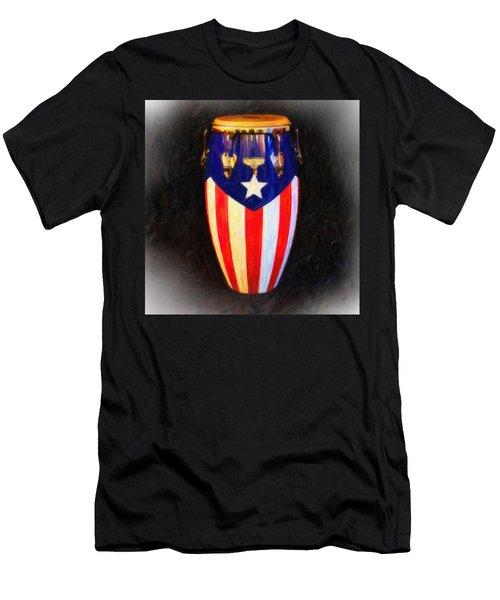 Puerto Rican Bomba Men's T-Shirt (Athletic Fit)